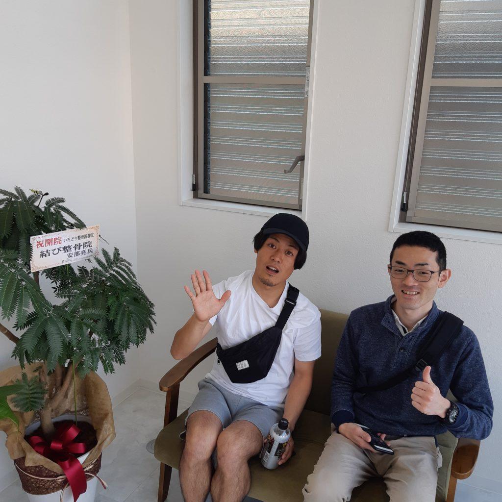 安部先生 山田先生